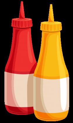 Ketchup clipart transparent