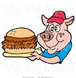 Barbecue clipart pulled pork