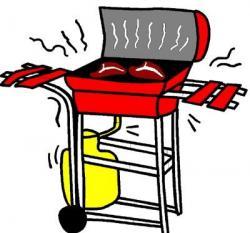 Burn clipart gas grill