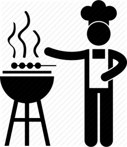 Barbecue clipart stall