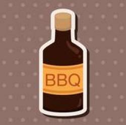 Sause clipart bbq sauce