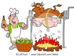 Barbecue Sauce clipart cartoon