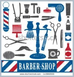 Barbet clipart barber tool