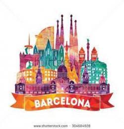 Spanish clipart barcelona