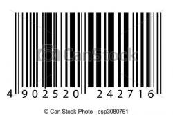 Barcode clipart barcode label
