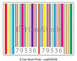 Barcode clipart date