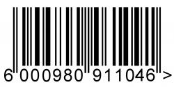 Barcode clipart first