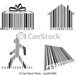 Barcode clipart funny