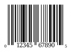 Barcode clipart happy birthday
