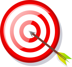 Barcode clipart target