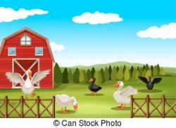 Farmland clipart rural