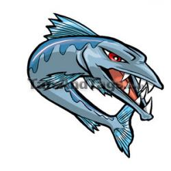 Tattoo clipart barracuda