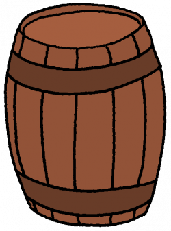 Pirate clipart barrel