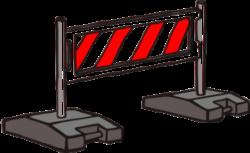 Barrier clipart