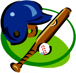 Glove clipart softball helmet