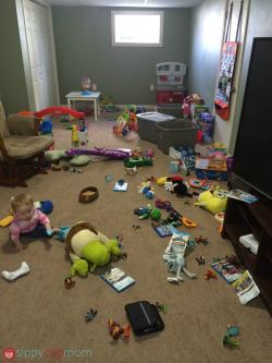 Basement clipart messy