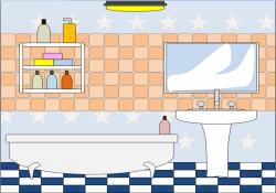 Bathtub clipart animated