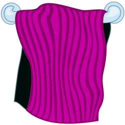 Towel clipart bath towel