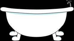 Toilet clipart bathtub