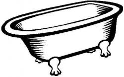 Bathtub clipart
