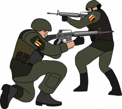 Soldiers clipart soldier shooting