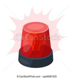 Beacon clipart emergency light