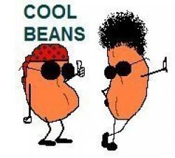 Beans clipart funny