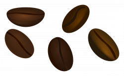 Cocoa Bean clipart coffee bean