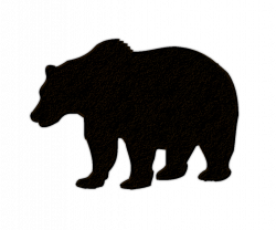 Grizzly clipart cabin