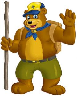 Hiking clipart cub scout