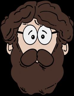 Man clipart beard