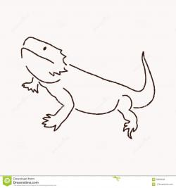 Bearded Dragon clipart