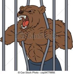 Beast clipart angry bear