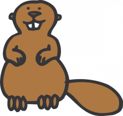 Beaver clipart animated
