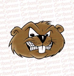 Beaver clipart mad