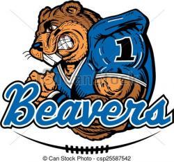Beaver clipart mascot
