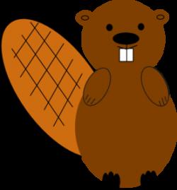 Beaver clipart purple