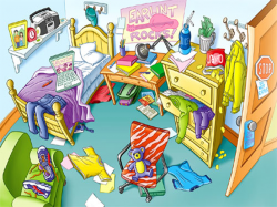 Room clipart mess