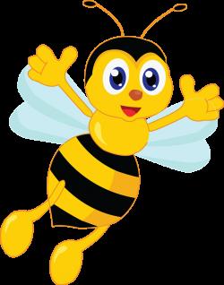 Graduation clipart bee
