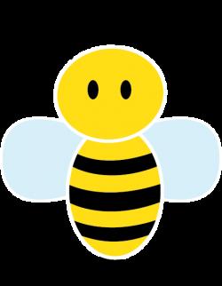 Bees clipart cute