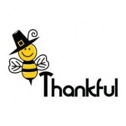Thanksgiving clipart bee
