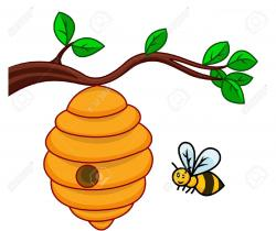 Branch clipart beehive