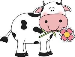 Herbivorous clipart baby cow