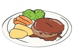 Hamburger clipart steak