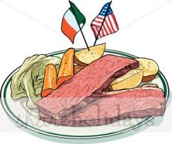 Beef clipart corn beef cabbage