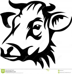 Cattle clipart cow head