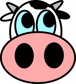 Cattle clipart cow face
