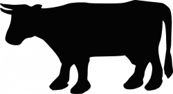 Beef clipart cow outline