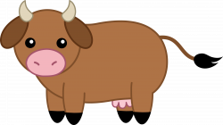 Ox clipart cute