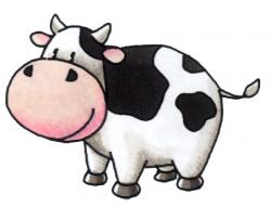 Beef clipart happy cow